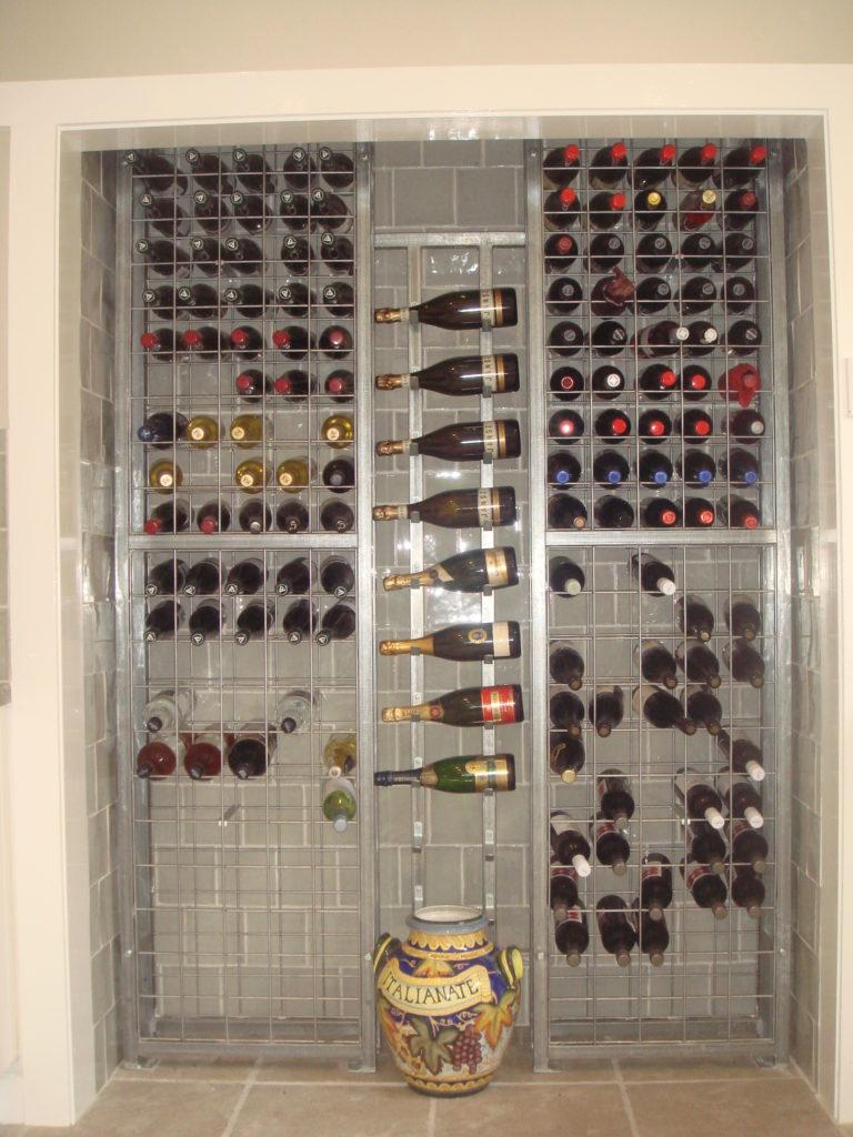 Twin Tower Wine Rack